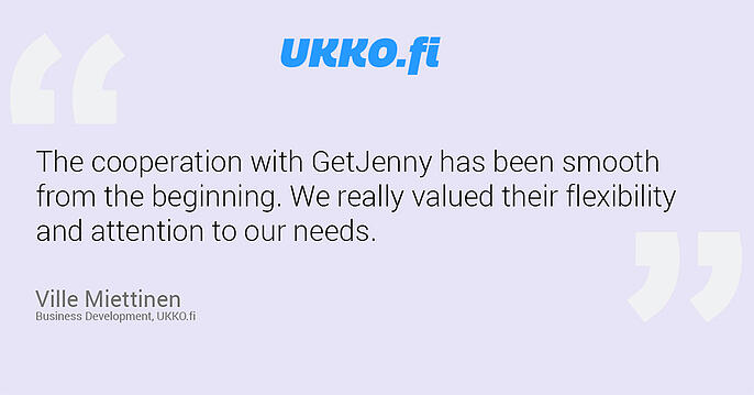 ukko and getjenny chatbot