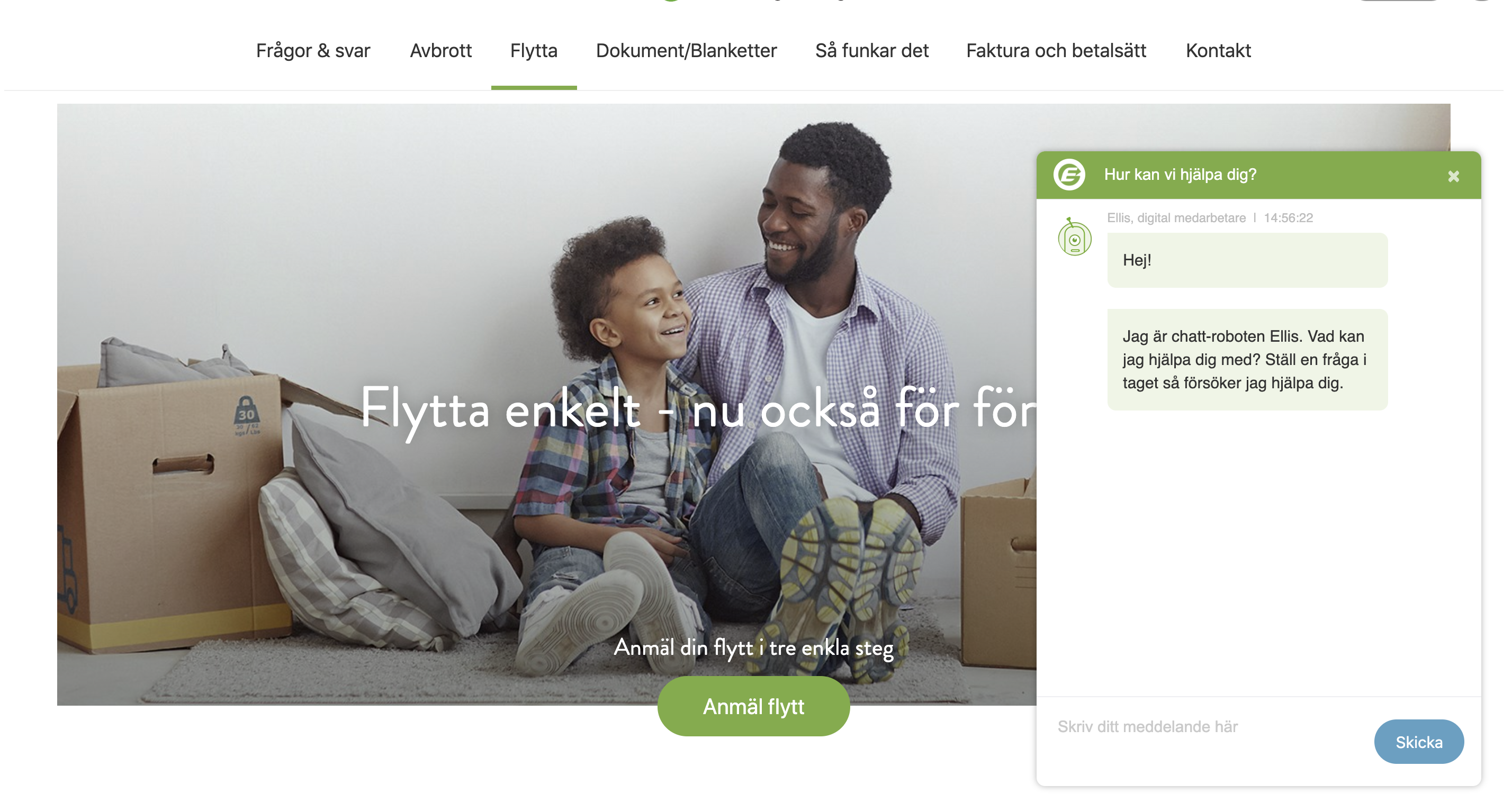 Göteborg Energi using GetJenny chatbot to automate customer service