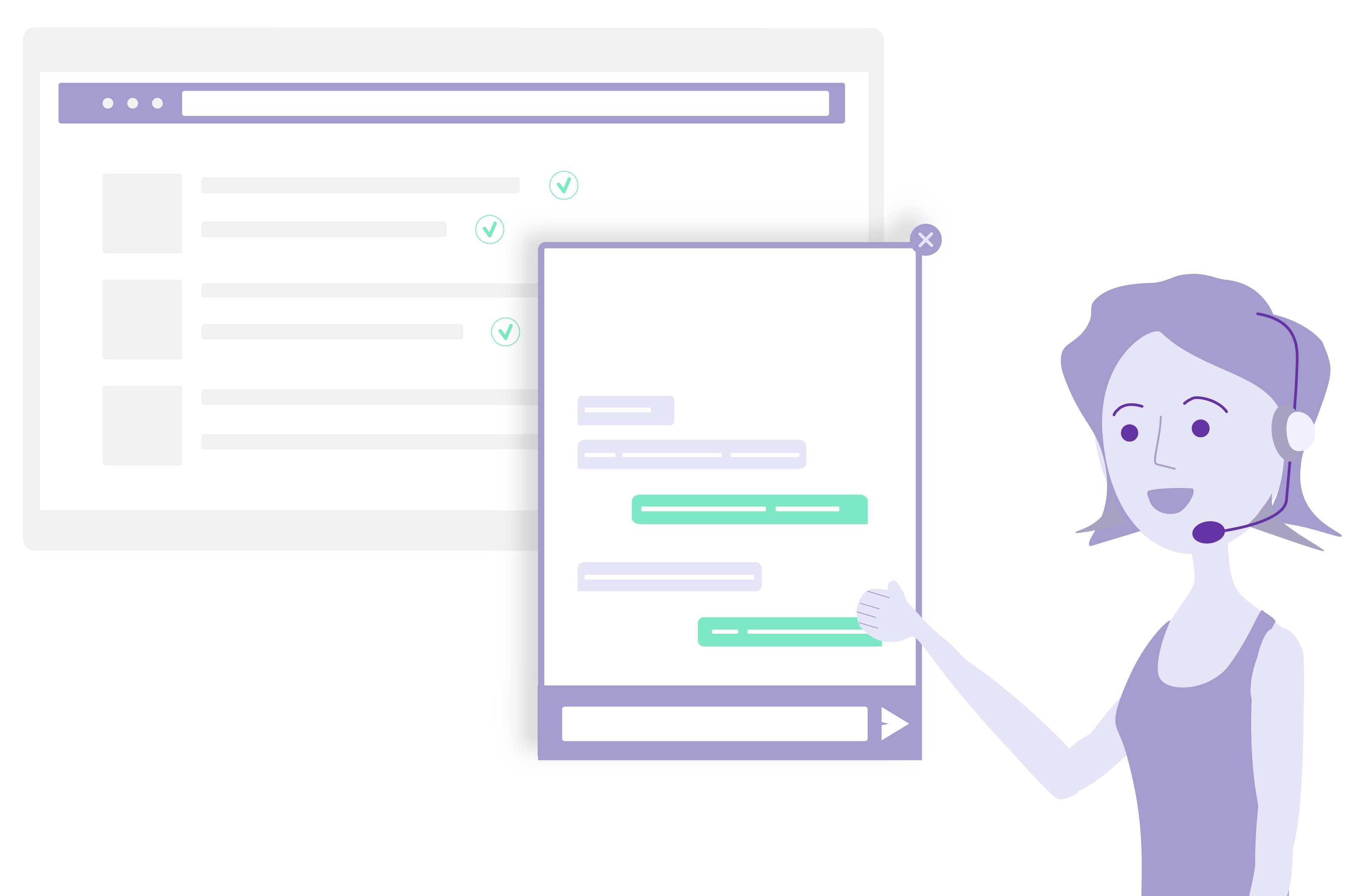 Connect agents to customers who need them most with JennyBot - Customer Service Chatbots by GetJenny